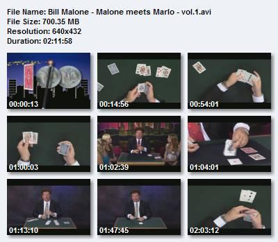 Bill Malone - Malone meets Marlo - vol.1
