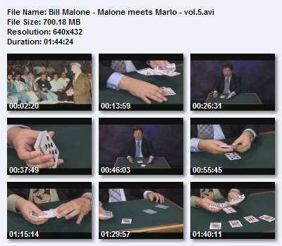 Bill Malone - Malone meets Marlo - vol.5